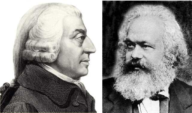 Ist der Markt moralisch gut oder schlecht? Smith vs. Marx